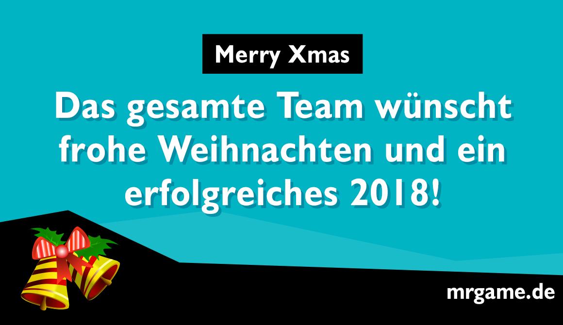Frohes Weihnachtsfest und guten Rutsch ins neue Jahr 2018 - News ...