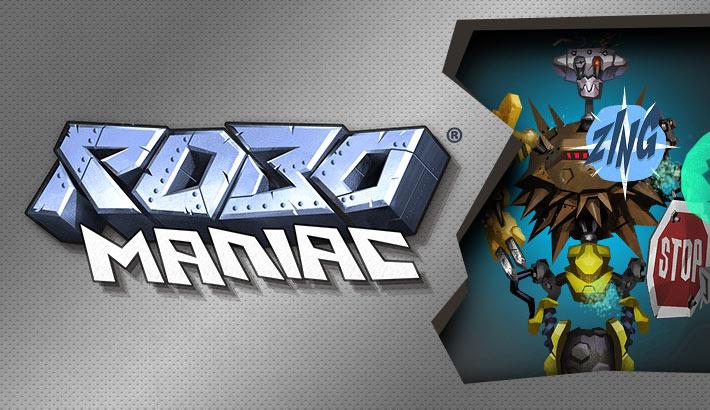 RoboManiac: Der Kampf der Roboter beginnt mit dir